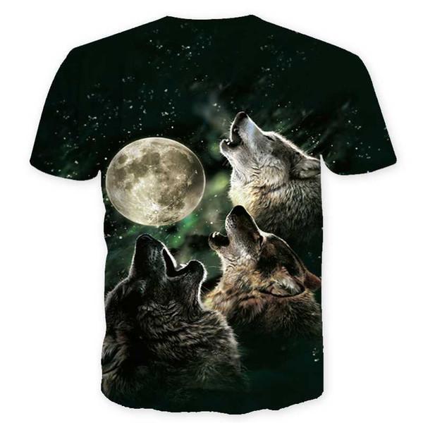 Nuit chat dame T-shirt à manches courtes femmes top 3d harajuku Tees top plus la taille des animaux T-shirt t-shirt femme Drop Ship 1130