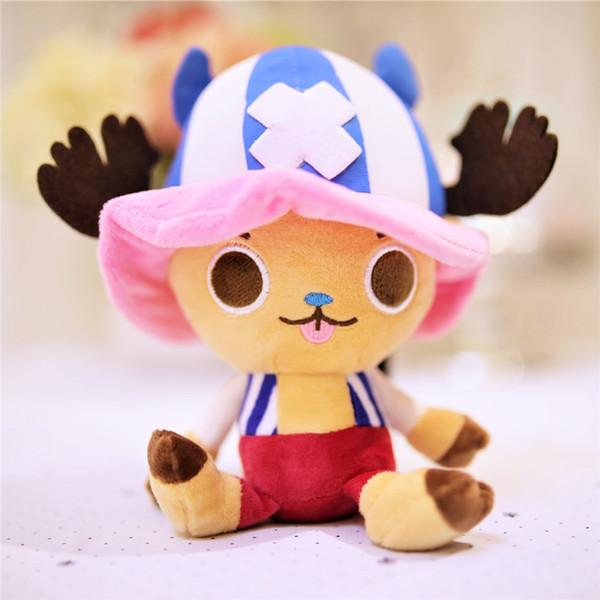 Tony Tony Chopper deer plush soft toy reindeer ONE PIECE plushies japan manga character doll for boys kids gift 10pcs