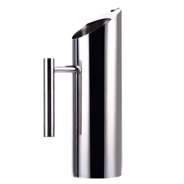 1 .5l Wasserflasche Edelstahl Große Kapazität Kaltes Getränk Flaschen Silber Wasser Krug Teekanne Wasserkocher Küche Zubehör