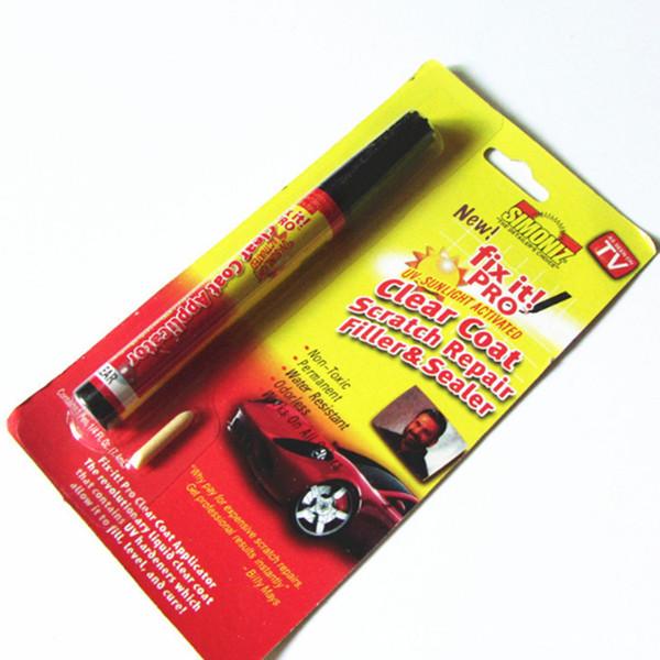 New Portable Car Scratch Repair Pen Fix It Pro Clear Coat Car Scratch Repair Remover Paint Pen TV Car Touch Up Pen