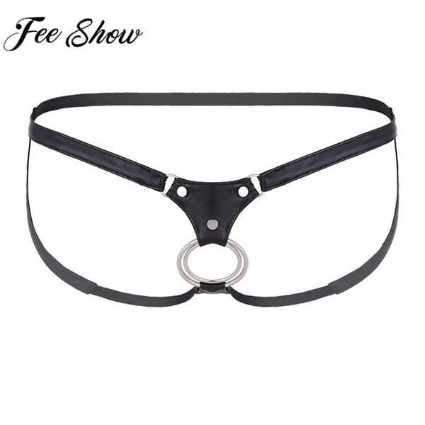 Feeshow erkek Külot Seksi Erkek Iç Çamaşırı Eşcinsel Penis Açık BuWonderjock Iç Çamaşırı Cuecas Eşcinsel Bikini G-string Erkek Iç Çamaşırı