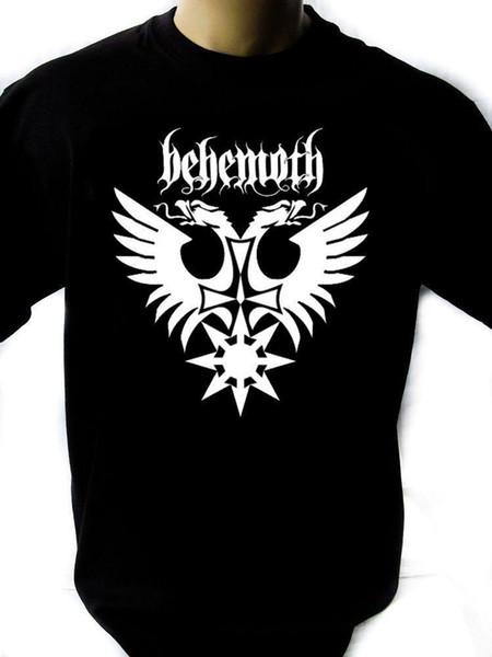 Behemoth Mens Black Rock T-shirt NOVOS Tamanhos S-XXXL T Shirt Engraçado T-Shirt Dos Homens