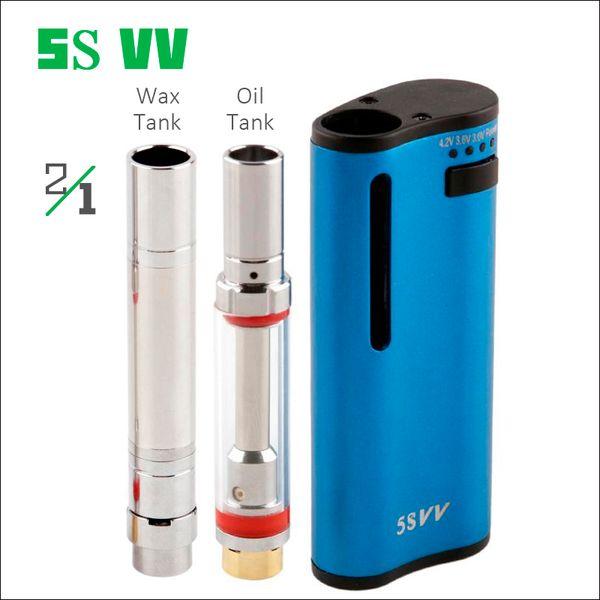 Premium Vape Box Mods Kits from Original Factory 650mAh Preheating Variable Voltages Oil Wax Vape Pen