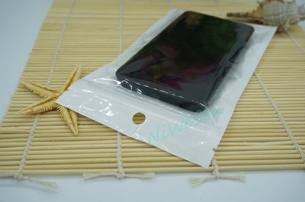 6x22cm 100pcs/lot Front transparent BOPP Pearlfilm ziplock bag - retail packing pouch, Perlized Film storage book mark zipper lock sack