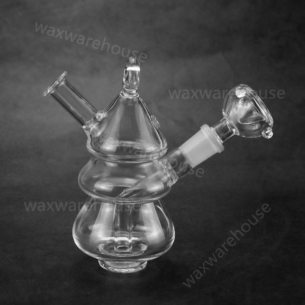 Hot Sale Glass Bong Arms Tree Honeycomb Percolator Thickness Glass Water Pipe with glass Bowl cool water pipes oil rig unique bongs