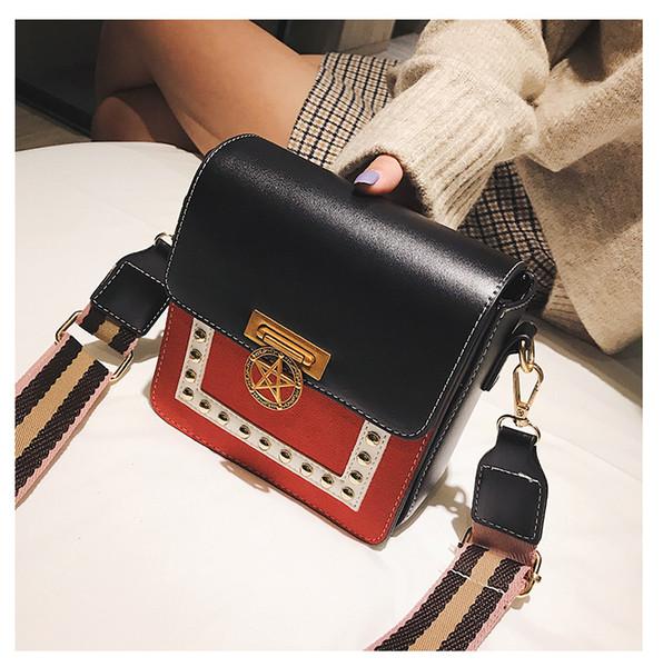 China Brand Fashion Two-tone Flap Bags Women Purse Designer bags High Quality Shoulder Cross body Kaxiu wanggong /11
