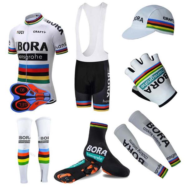 55479bb74 Summer UCI BORA Team men Cycling Jersey full set MTB Bike Shirt suit Racing Clothing  Riding Garment tour de france bicycle sportswear 102501