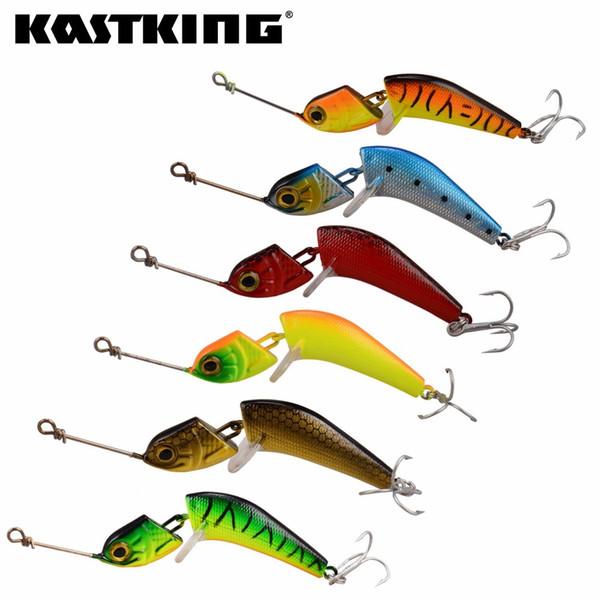 KastKing 6pcs/set 11.5cm 18.8g Lifelike Fishing Lure 2 Segments Wobbler Swimbait Crankbait Hard Fishing Bait Artificial LuresY1883004