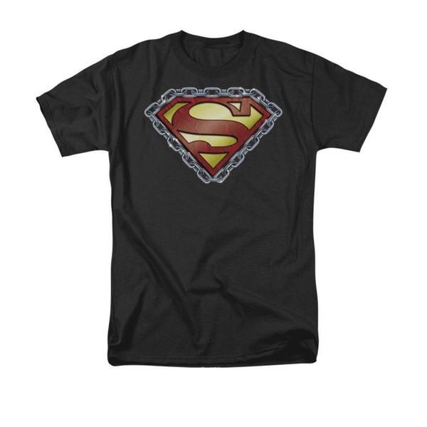 T-shirt à manches chaine Shield Adult Mens 2018 T-Shirt T-Shirt O-Neck 100% coton