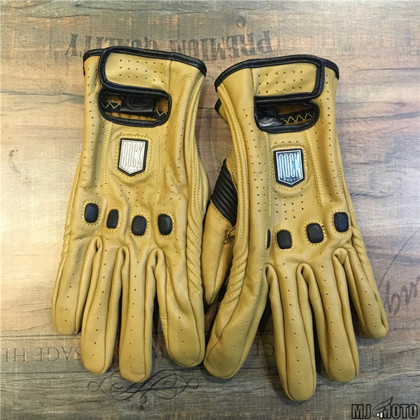 Cycling Motorbike Gloves men Full Finger Protective Gears Leather Motorcycle Gloves Motocross Glove Winter Man Female