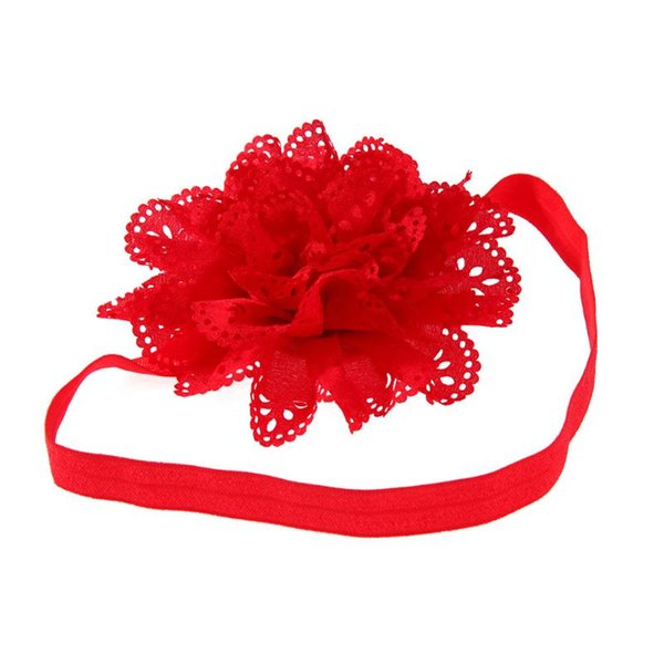 3pcs Kids Headband Mesh Elastic Girl's Hairwear Felt Flower Leaf Bebe Head Band Cute Vintage Hair Accessories For Girls
