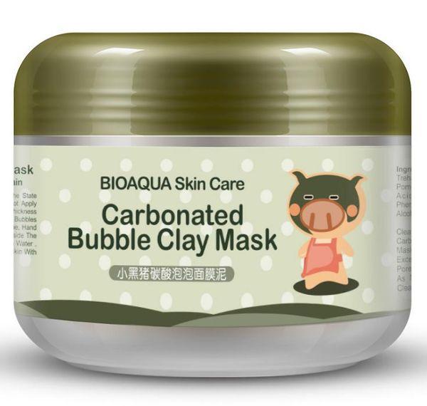 Bioaqua Marke Schlaf Behandlung Gesichtsmaske Whitening Aufkleber Reinigung Mitesser Entferner Kohlensäure Blase Ton Maske Hautpflege A933