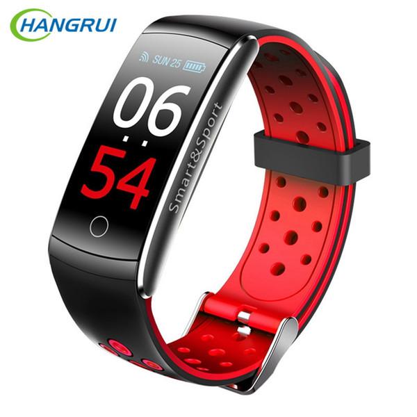 Q8 Smart Wristband Men Fitness Bracelet watch Activity Tracker Heart Rate Monitor smartband IP68 Waterproof Sport VS mi band 3