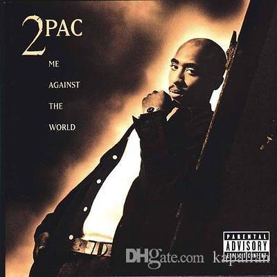 Free Shipping Tupac 2pac Me Against The World Front Cover High Quality Art Posters Print Photo paper 16 24 36 47 inches