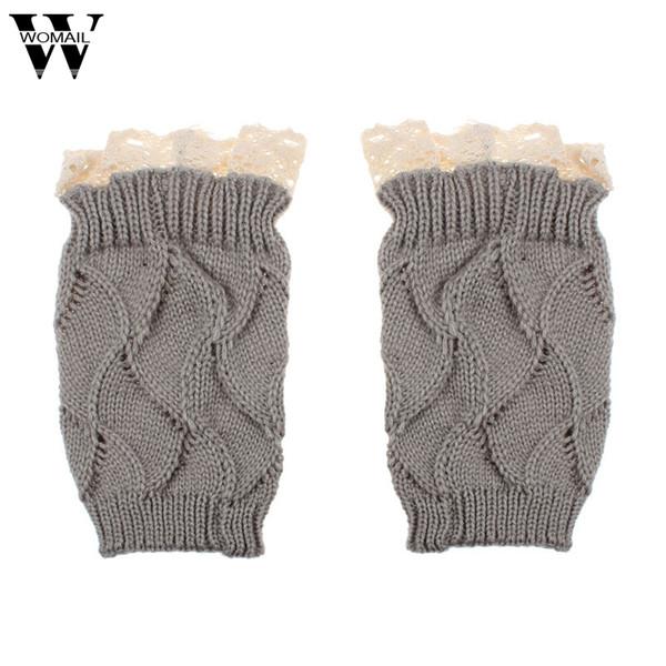 Compre Mujer 2015 Señoras De Las Mujeres De Invierno Crochet Knit ...