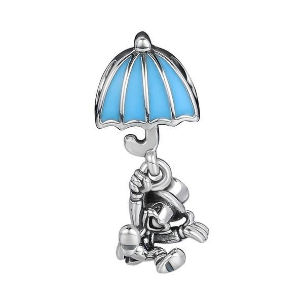 Branelli allentati Fine Jewelry Jiminy Cricket Ciondola Charm Adatto per pandora braccialetto in argento sterling 925 perline fai da te per gioielli