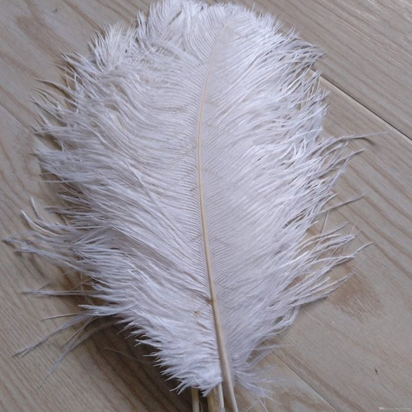 Free Shipping Ostrich Feather plumes white for Wedding decor centerpiece decoraction party event supply festive decor supply z134