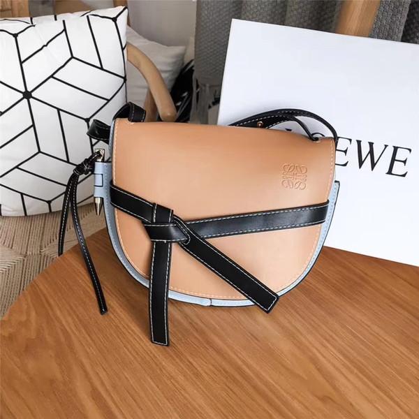 2017 Sıcak Satış çanta çanta kapısı Çanta Bayanlar Hakiki Deri Messenger Çanta çanta Kadın Ünlü Markaların Küçük Crossbody Çanta omuz çantası