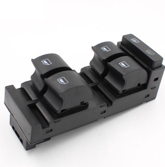 Elektronik Güç Master Pencere Kontrol Anahtarı Için 4B0959851B A3 A6 C5 RS6 S6 OEM 4B0 959 851B Yüksek Kalite Araba Pencere Anahtarı