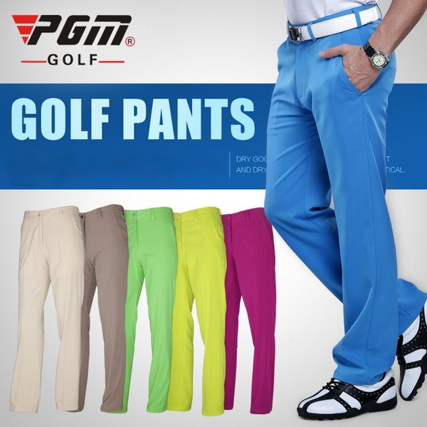 PGM authentic golf pants men waterproof trousers soft breathable golf clothing summer sizes xxs-xxxl
