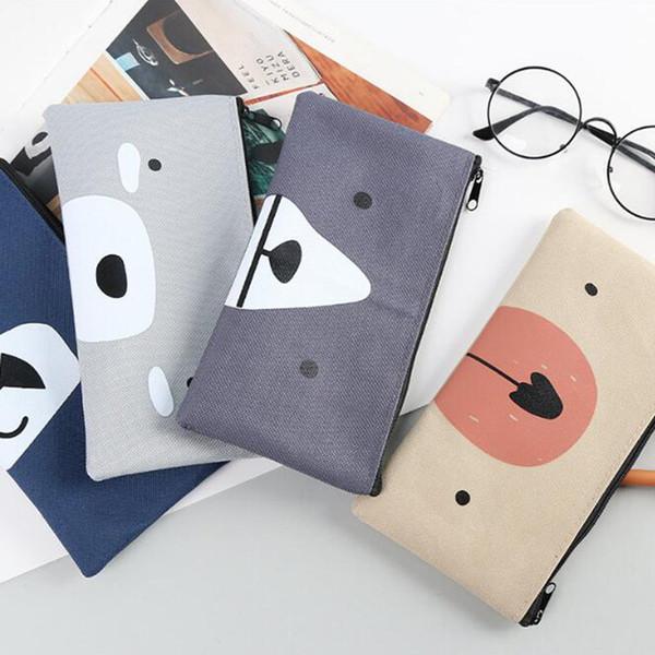 New Pencil Case Fabric Bag Materiale scolastico Bts Stationery Gift School Carino Pencil Box Pencilcase Corea Fornitura di borse