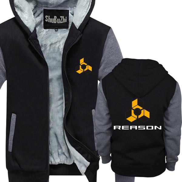 Reason Logo Hoodie Propellerheads Produzent DJ Techno Kult div. Farb männlich dicke hoodies modemarke winterjacke mantel