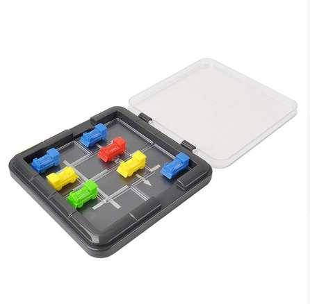 1 Set Plastic Car Escape Puzzle Game Brain Teaser for Kids Educational Toy Gifts Children Car Parking Toy Puzzle