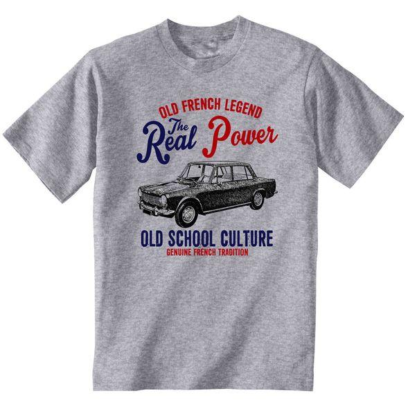 Vintage French Car Simca 1300 1964 - Nueva camiseta de algodón Venta al por  mayor Descuento fba2c86ef00