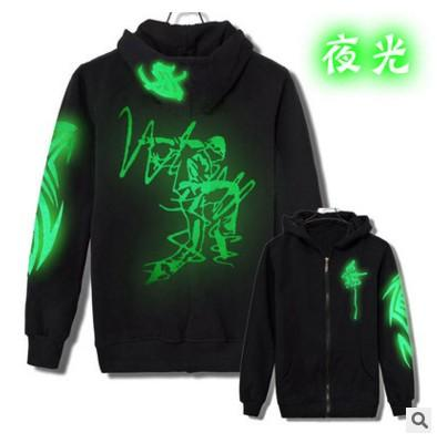 Cappotto maglione luminoso fluorescente fluorescente del cardigan degli uomini coreani del rivestimento del maglione di shuffle dello shuffle dei vestiti luminosi