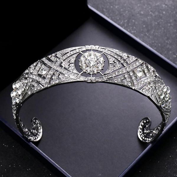 Bride accessories British princess the same crown discount