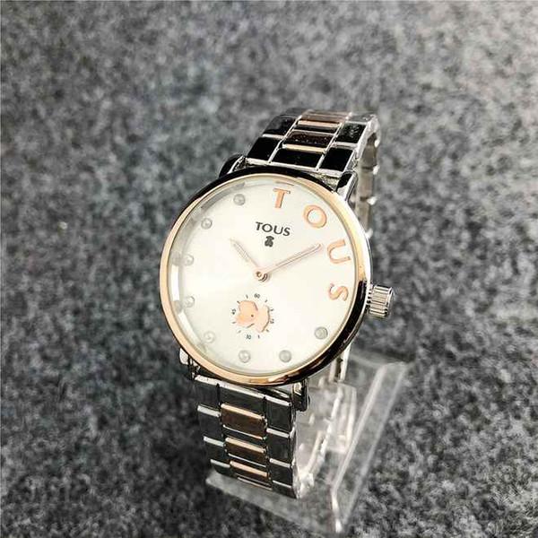 Marca de lujo relojes de mujer correa de acero inoxidable reloj de moda  señoras vestido casual 856b61e99bfc