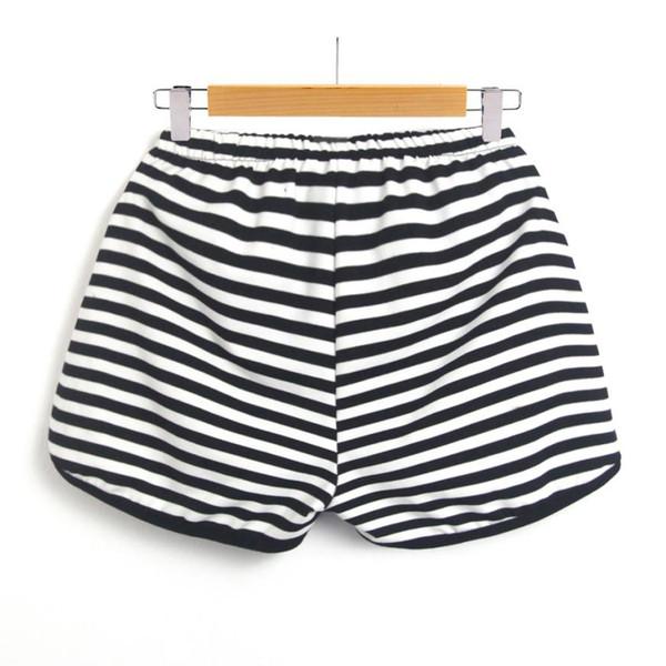 pas cher à vendre sélectionner pour l'original joli design 2019 Fashion Women'S Summer Shorts Striped Workout Waistband Shorts  Pantalon Femme Casual Spring Autumn Trousers Beach Wear #F From Viviant,  $37.91   ...
