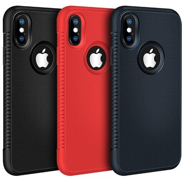Nuevo para Iphone XR XS MAX X 6S 7 8 plus TPU Funda de silicona suave de silicona para celular, funda delgada para samsung S8 S9 S10 plus nota 8 9 de lujo