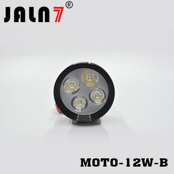 Compre Luz De LED 12V MOTO Del Punto 12W Motocicleta JALN7 1320LMW Cabeza Faros La De B Faros De Moto De La De De Motocicletas Proyectores Conducción TZiuPkXO