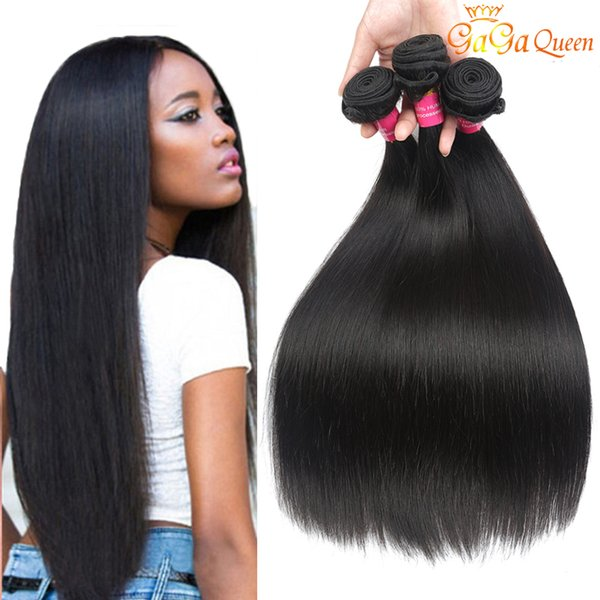 Cheap Peruvian Straight Human Hair Extensions Unprocessed Virgin Straight Hair Bundles 8-28inch Peruvian Straight Virgin Hair Weft