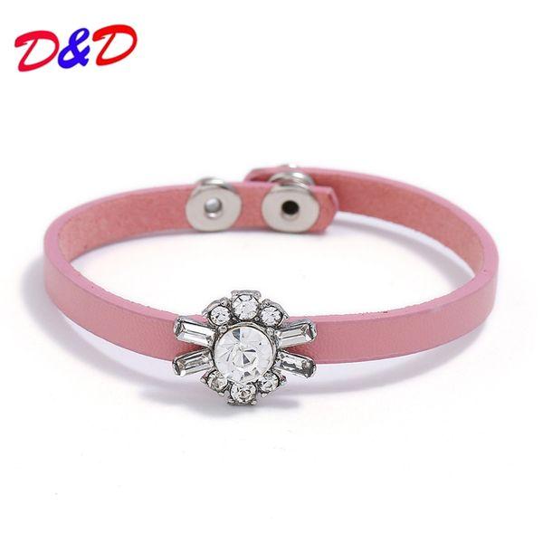 2018 vendre comme des gâteaux chauds bijoux délicat à la main en cuir clouté femmes bracelet avec Ms créatif bijoux