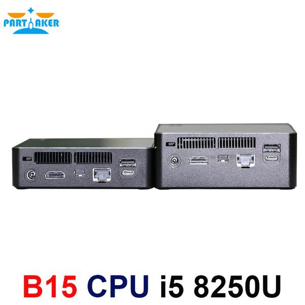 Newest Kaby Lake R 8th Gen Mini PC Win 10 Intel Core I5 8250U UHD Graphics  620 5G AC Wifi Bluetooth HDMI Mini Computer Good Pcs Good Pcs For Gaming