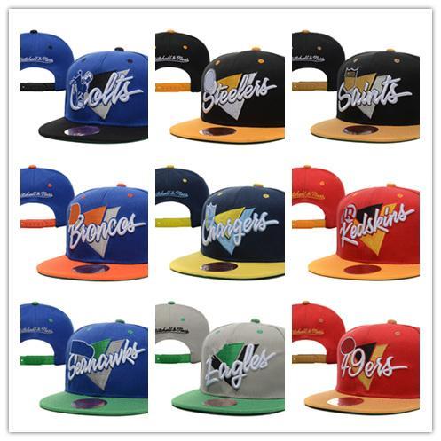2018 newest Men's Women's Basketball Snapback Baseball Snapbacks All Teams Football Hats Man Sports Hat Flat Hip Hop Caps Thousands Styles