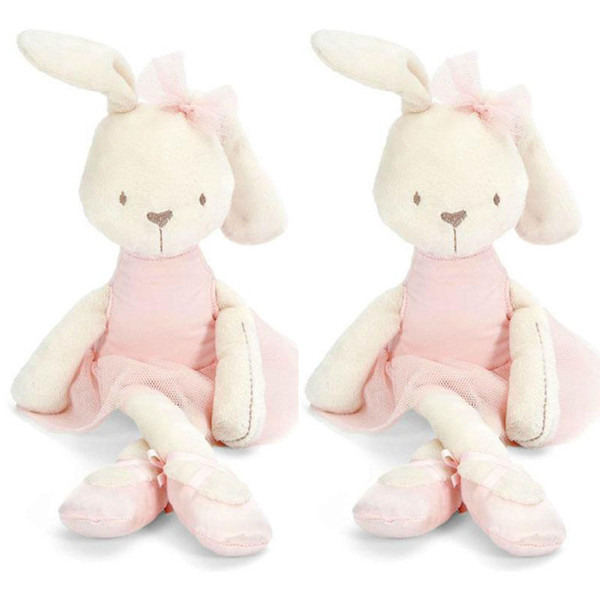 Cute 42cm Large Soft Stuffed Animal Bunny Rabbit Toy Baby Kid Girl Sleeping Stufed Toys Pets