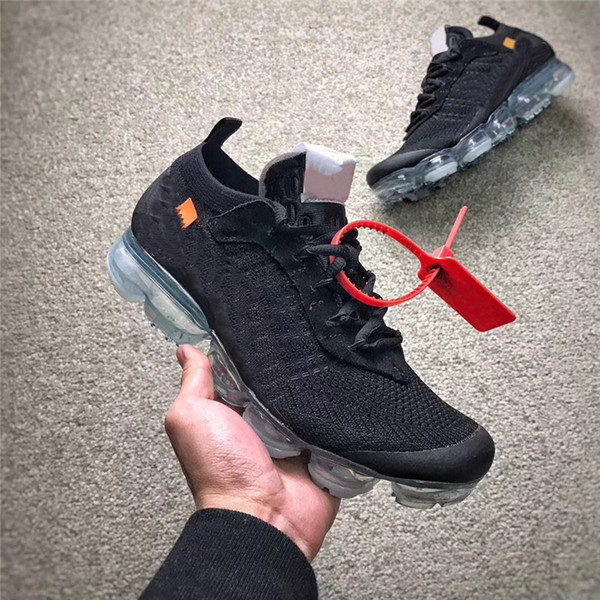 new style bbc0c 0a202 2019 2018 Release The 10 Off Vapormax 2.0 FK Black White Men Women Running  Shoes Sneakers Authentic Quality With Original Box AA3831 002 From Lypaicl,  ...