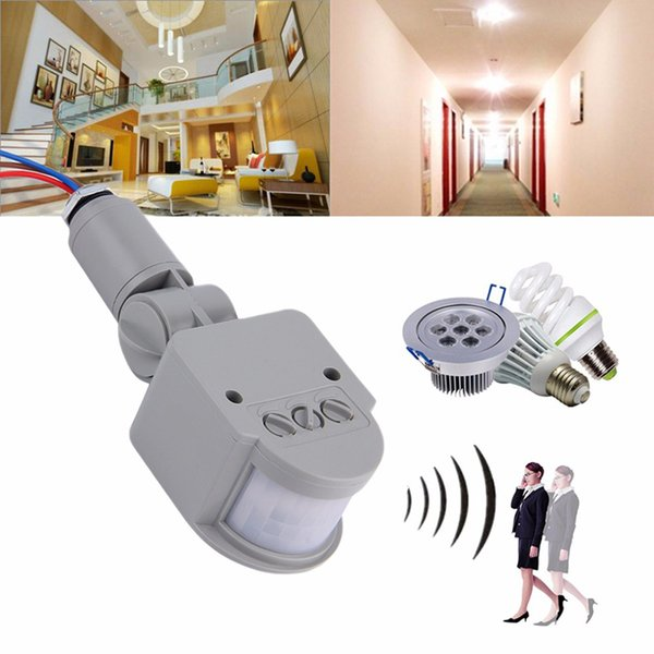 Motion Sensor Light Switch Outdoor 12V Automatic Infrared PIR Motion Sensor Switch for LED Light