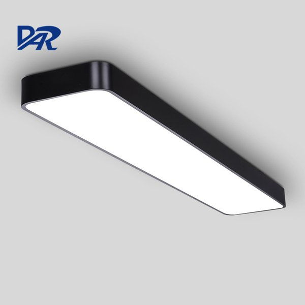 High Quality Office Lighting Fixture Silver White Black Modern Led Ceiling  Lights For Meeting Room Aluminum Lamparas De Techo
