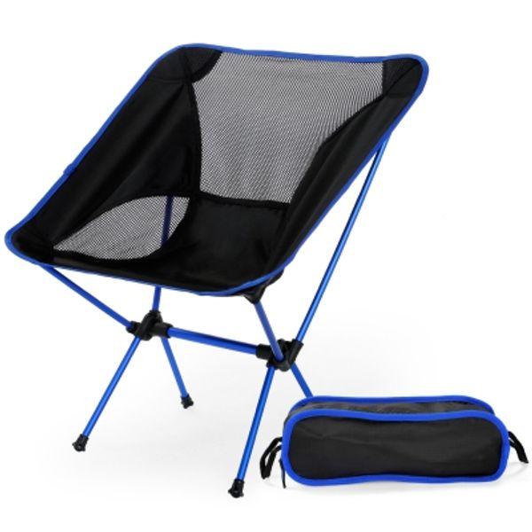 Angeln Stuhl Camping Tragbare Falten Abnehmbare Erweiterte Outdoor-möbel Sitz Stuhl mit Taschen Garten Outdoor Stuhl 7 Tage Geliefert
