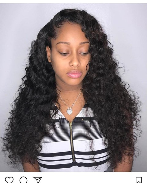 2018 soft shine aaaaaa 100% unprocessed remy virgin human hair natural color long kinky curly full lace wig for women