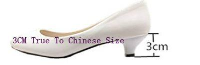 Purpel 3cm Heel
