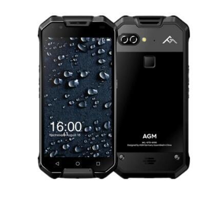 """AGM X2 IP68 Waterproof 5.5"""" 6GB RAM 64GB/128GB ROM Qualcomm MSM8976SG Octa Core Dual 12MP 6000mAh NFC Smartphone"""