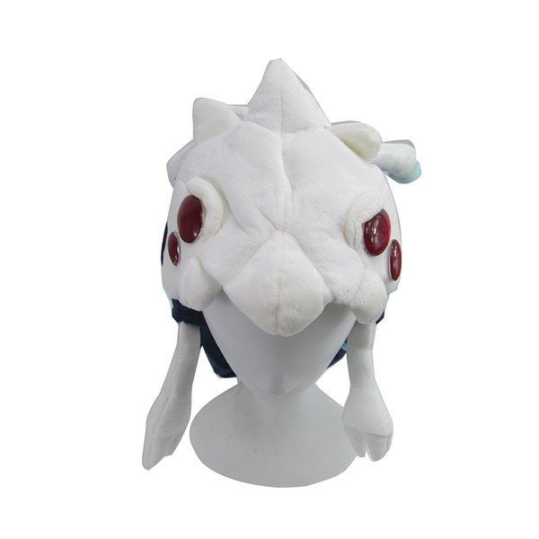 Game League of Legends LOL Mouth of the Abyss Kog'Maw Cosplay Soft Plush Hat Cap Beanies