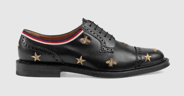Männer Mokassins Leder bestickt Brogue Schuh Loafers Lace Ups Mönch Straps Stiefel Hausschuhe Treiber Sandalen Rutschen Sneakers Dress Run Schuhe