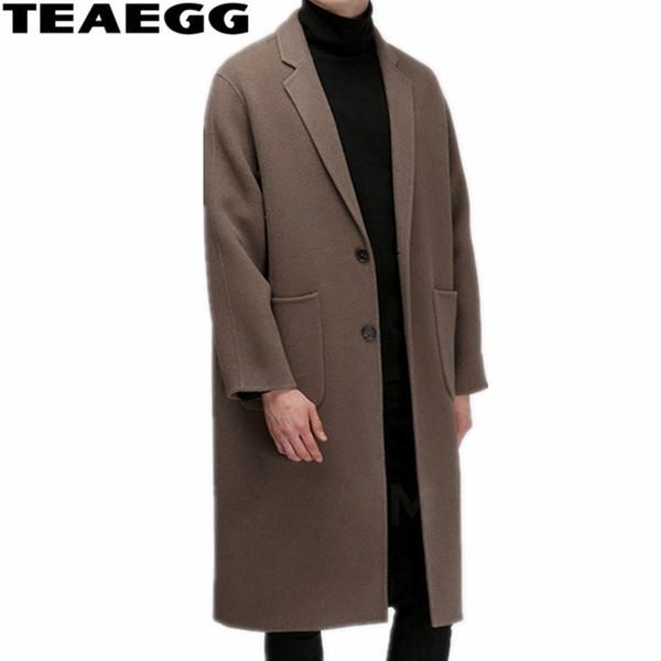 AL577 Européen Acheter Vêtements Laine Qualité Homme TEAEGG Manteau Haute Manteau Et De D'hiver Hommes Abrigo Style Cachemire Hombre Parkas Américain E29WHIDY