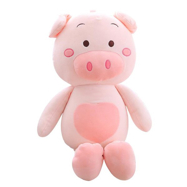 Millffy 1pcs 40cm-120cm Cute pig figurine Simulation pig Bigger size toys Cartoon pink plush toys fat pillow soft doll